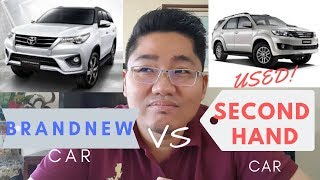 Brand new vs Used Car : Which is better?