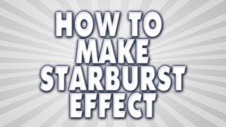 Starburst Tutorial - Adobe Photoshop | RealFlame