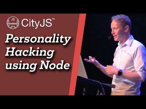 Image thumbnail for talk Personality Hacking Using Node