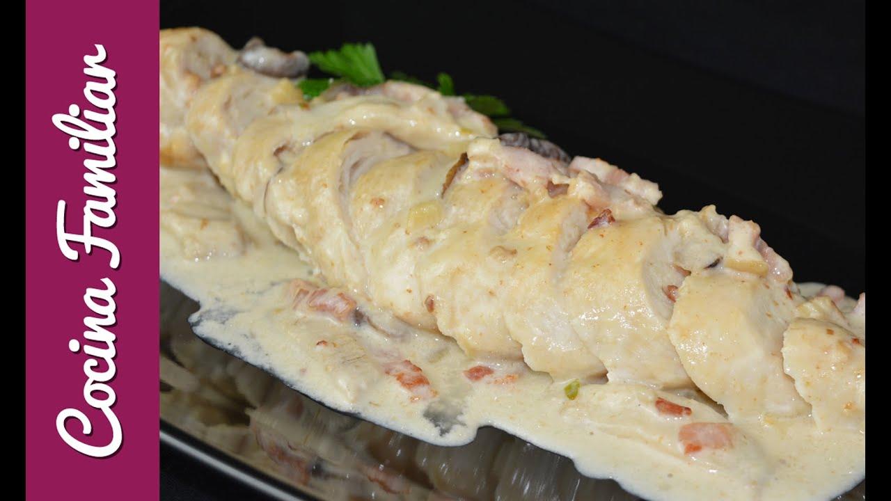 Pechugas de pollo con salsa de nata | Javier Romero