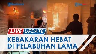 Kronologi Api Melalap Rumah di Kelurahan Telawang Banjarmasin, Warga Baru Pulang Salat Jumat