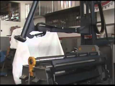 Zwijarki do blachy MG SRL ITALY - wspornik górny do zwijania stożkowego.flv - zdjęcie
