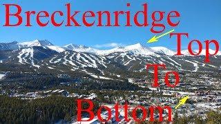 Breckenridge Ski Tour: Top to Bottom in 3.8 Miles!