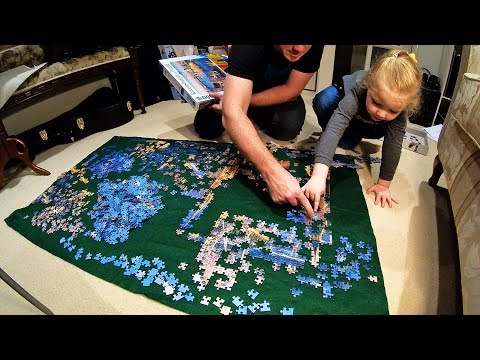 London 2000 Piece Jigsaw Puzzle Time Lapse