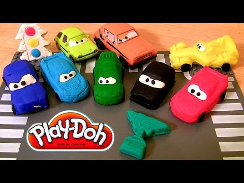 Play Doh Cars 2 Race Mats World Grand Prix Racers
