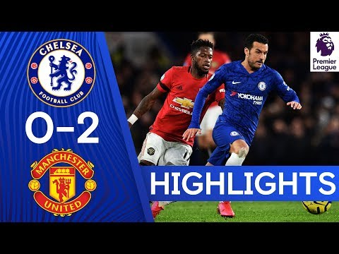 Chelsea 0 - 2 Manchester United - All Goals & Highlights