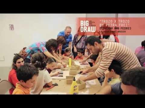 Presentación del Big Draw Barcelona 2014