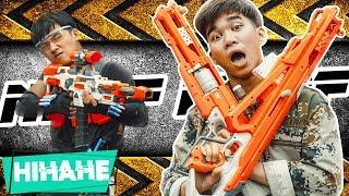 Hihahe Nerf War: SWAT & Captain Police Nerf guns Criminal Group Fight THE LAST BATTLE