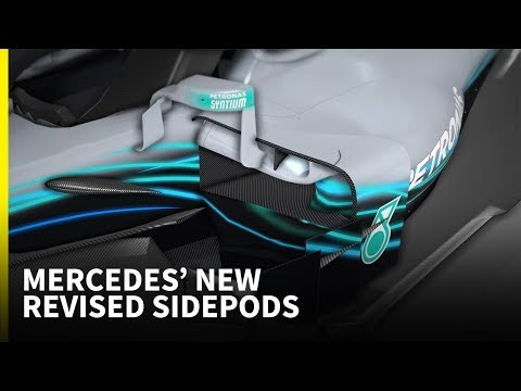 Can revised sidepods help Mercedes raise its game against Red Bull and Ferrari?
