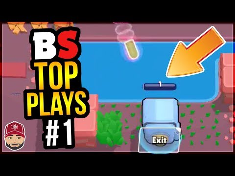 Best Plays and Moments in Brawl Stars History | BS Top Play Review #1 (видео)