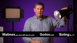 Videoleuchten für wenig Geld von Walimex - Godox - Boling