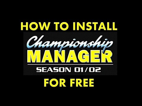 How To LEGALLY Install And Play Championship Manager 01/02 For FREE Mp3