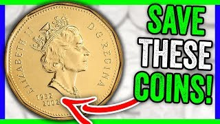 10 RARE CANADIAN DOLLAR COINS WORTH MONEY - VALUABLE FOREIGN COINS TO LOOK FOR!!