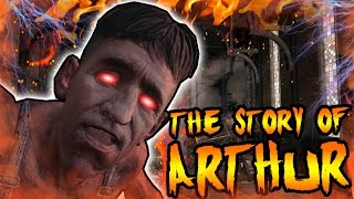 The Story of ARTHUR! EVIL MAXIS KILLED LEROY IN BURIED! Call of Duty Black Ops 2 Zombies Storyline