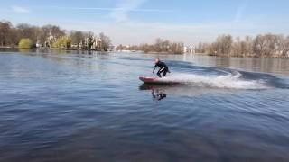 Waterwolf Berlin - Electric Surfboarding - raw cut
