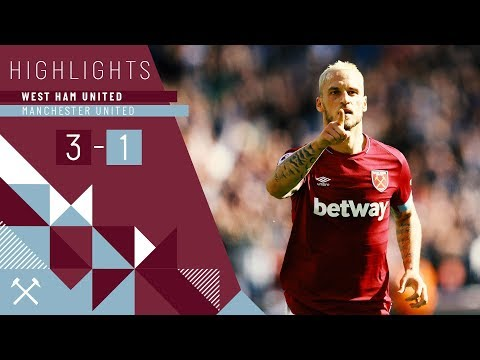 HIGHLIGHTS | WEST HAM UNITED 3-1 MANCHESTER UNITED | FELIPE ANDERSON & ARNAUTOVIC WITH THE GOALS