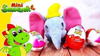 Disney Dumbo i Jajka Niespodzianki! Zabawki Bajki Dla Dzieci Po Polsku