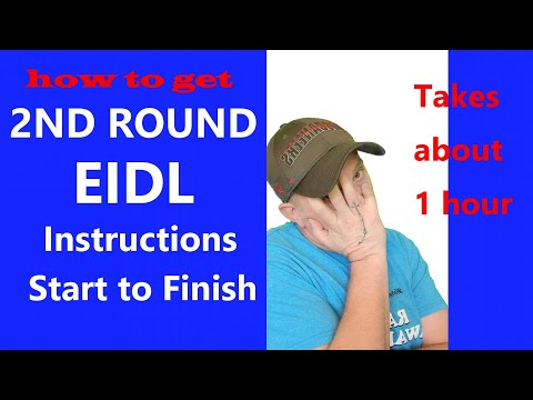 2nd Round EIDL INCREASE LAST CHANCE Updated Instructions on How to get more SBA EIDL LOAN Money