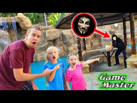 Game Master Caught Leaving Big Bow Surprise Eggs at Our House!