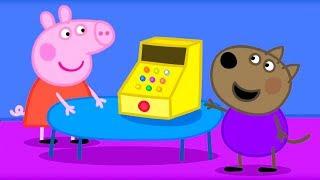 Свинка Пеппа на русском все серии подряд | Пеппа и Сюзи играют в Магазин | Мультики