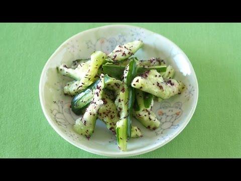 How to Make Yukari Marinated Cucumbers (2-Ingredient Recipe) きゅうりのゆかり和え (レシピ)