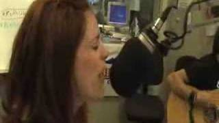 Jessie Farrell at Country 105 studios
