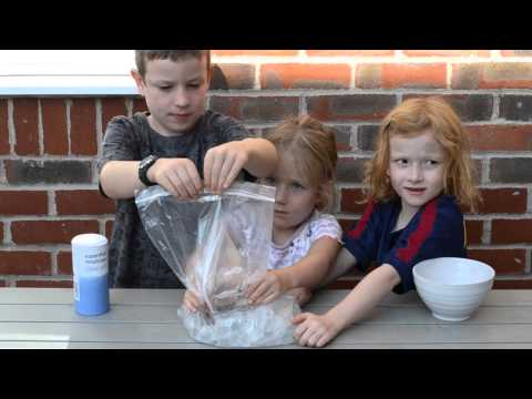 Video How to make ice cream with salt