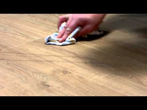 Laminate flooring maintenance:  how to deal with scuffmarks