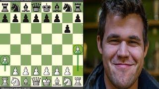 Magnus Carlsen sigue troleando en el Ajedrez Online  (Apertura 1. a3!)