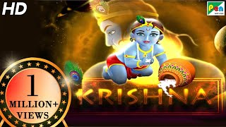Krishna Animated Movie With English Subtitles   HD 1080p   Animated Movies For Kids In Hindi