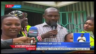 KTN Leo Wikendi: 'sio ndoto' Mashindano wa Lotto yampa Geofrey Ndung'u shilingi millioni mia moja