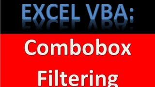 How to Filter Combobox From Another Combobox - Cascading Comboboxes