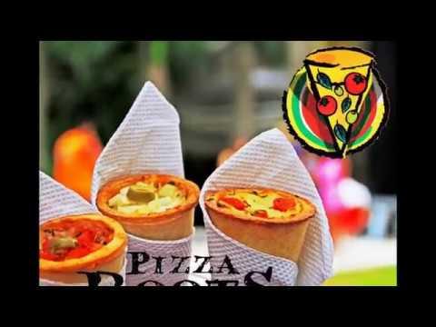 Apresentação Pizza Roots Pizza Cone no Seu Evento