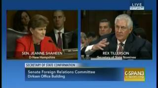 Secretary of State Nominee Rex Tillerson won
