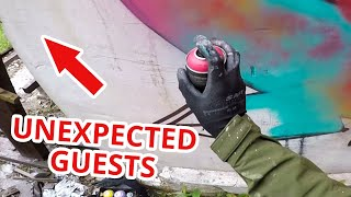 Abandoned Building RAW GRAFFITI - Unexpected Guests