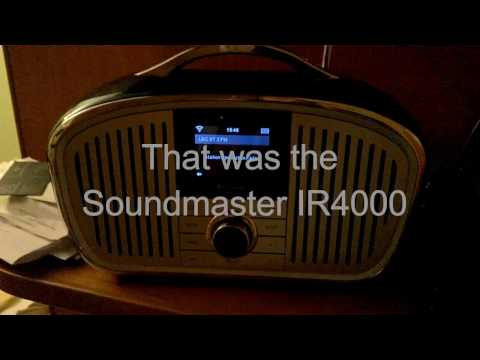 Soundmaster IR4000 wifi internet radio review - a tale of woe, caveat emptor