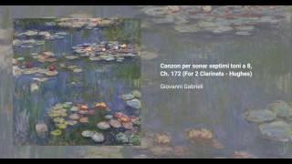 Canzon per sonar septimi toni a 8, Ch. 172
