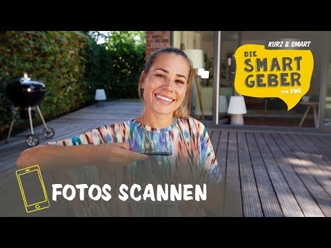 Fotos mit dem Smartphone digitalisieren – so geht's | kurz & smart