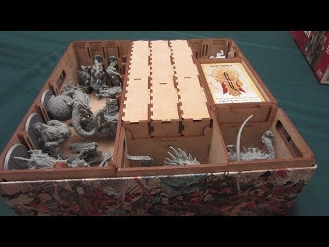 To the Table: Go7 Gaming's Rising Sun Daimyo Box Insert Review
