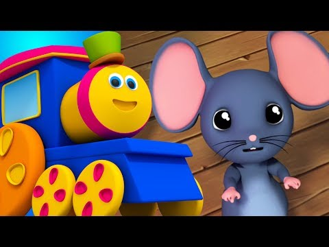 Bob der Zug | Hickory Dickory Dock | Kinderreime | Bob Train Rhymes | Baby Videos | Children Rhymes