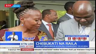 Raila Odinga akutana na Wafula Chebukati kuchanganua utata wa marudio wa urais