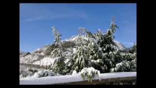 preview picture of video 'Osilo e i suoi dintorni con la neve'