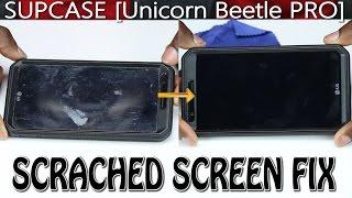 SUPCASE [Heavy Duty] Case [Unicorn Beetle PRO Series] SCREEN FIX