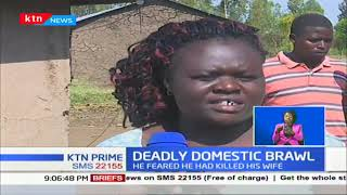 Man commits suicide in Kisumu after beating wife to near-death