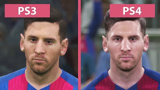 PES 2017 – PS3 vs. PS4 (Demo) Graphics Comparison Pro Evolution Soccer