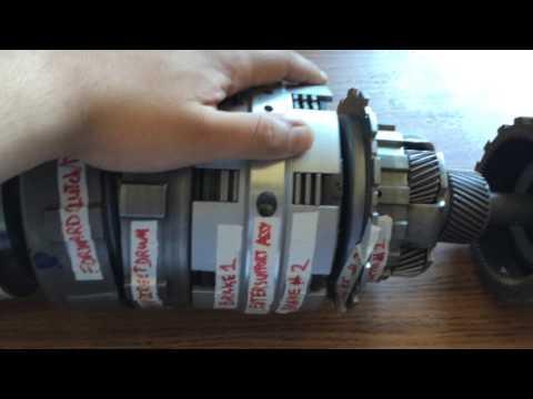 Aisin Warner A40 Series Transmission - Powerflow