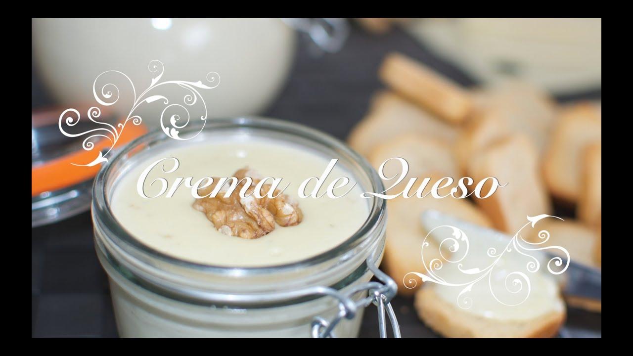 Crema de Queso Thermomix | Pate de Queso Thermomix | Recetas Thermomix por Chef de mi Casa.com