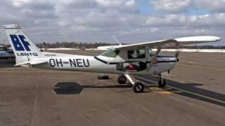 Cessna 152 Aerobat Engine Start Sound @ Malmi Airport (EFHF)