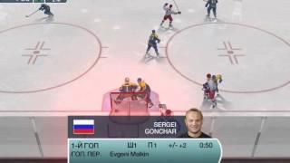 NHL09 Россия-Украина