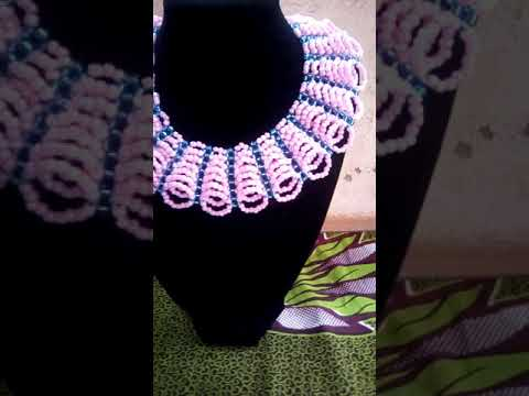 How to make old abuja collection beads design